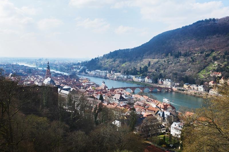 Heidelberg z góry