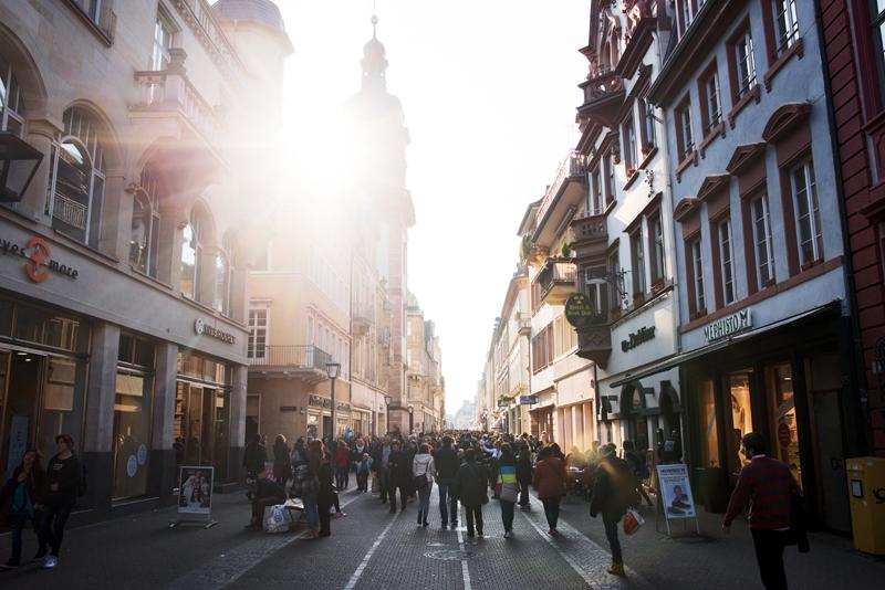ulice Heidelberga